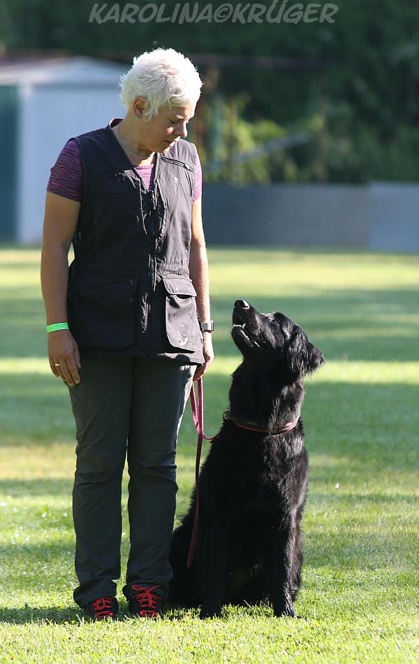 Annette Kottwig mit Bailey ex Stipator Francorum