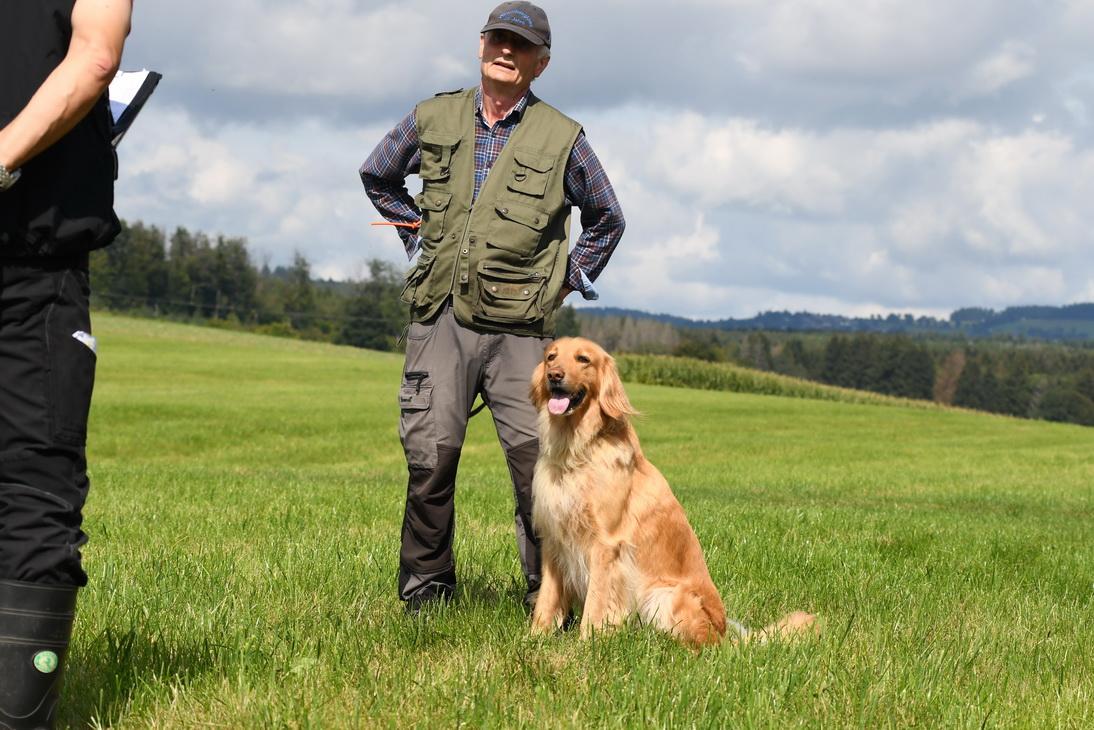 Bernd Komanns mit Elfe vom Wittegrund