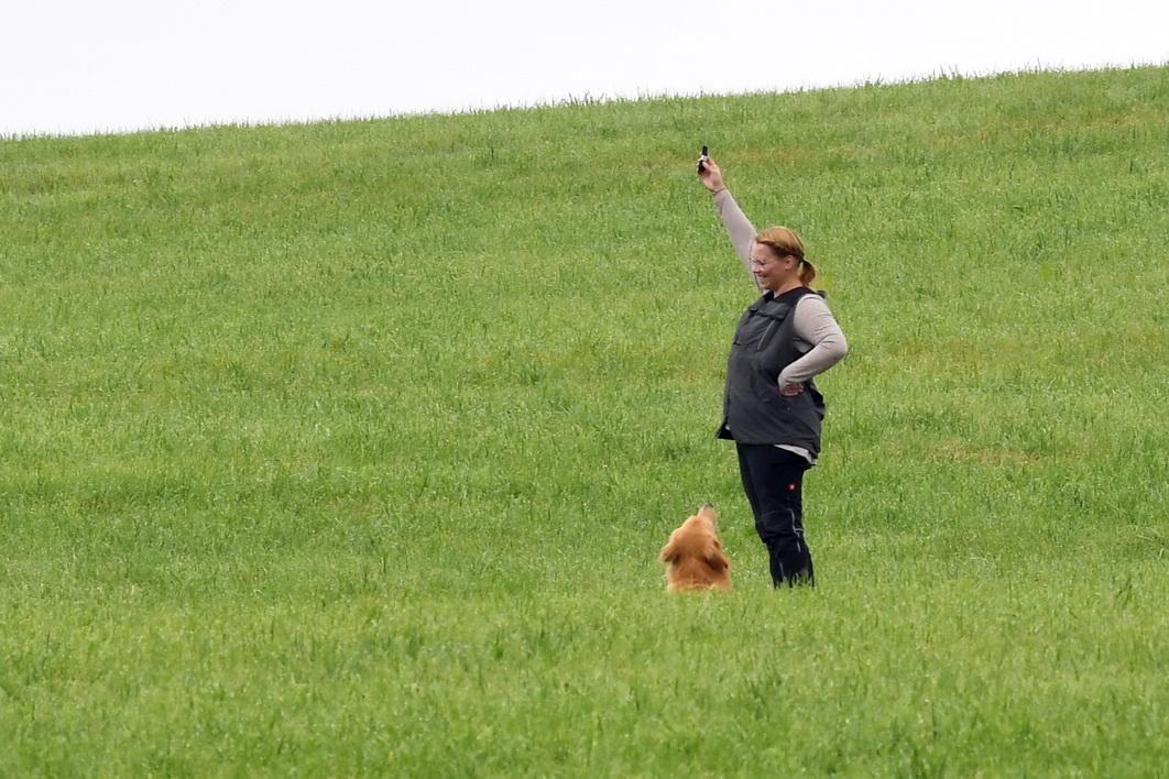Saskia Rauner mit Grisu von der Fohlenweide