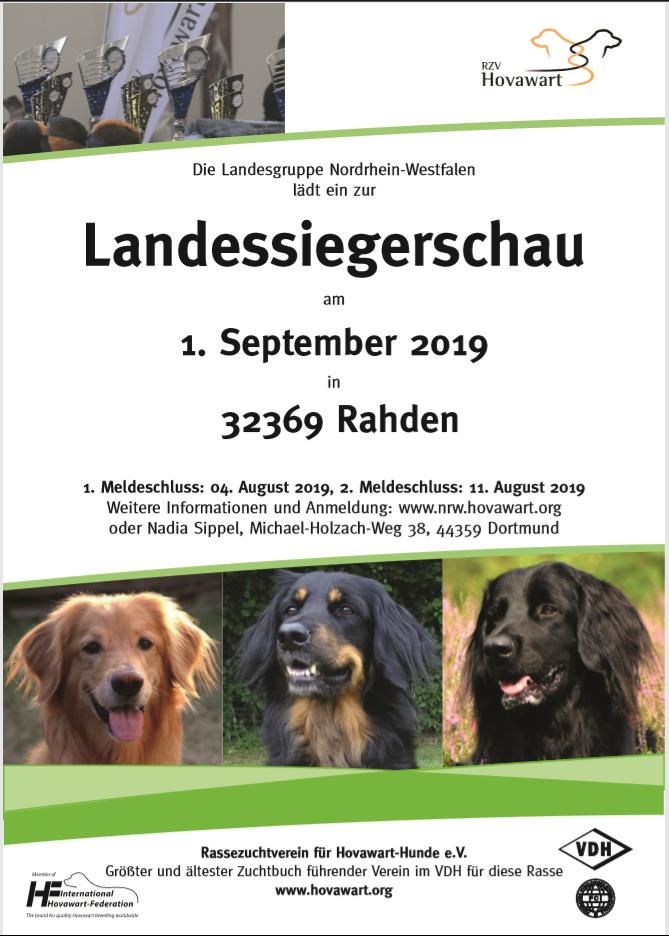 CAC Landessiegerschau NRW in Rahden | 01.09.2019 1