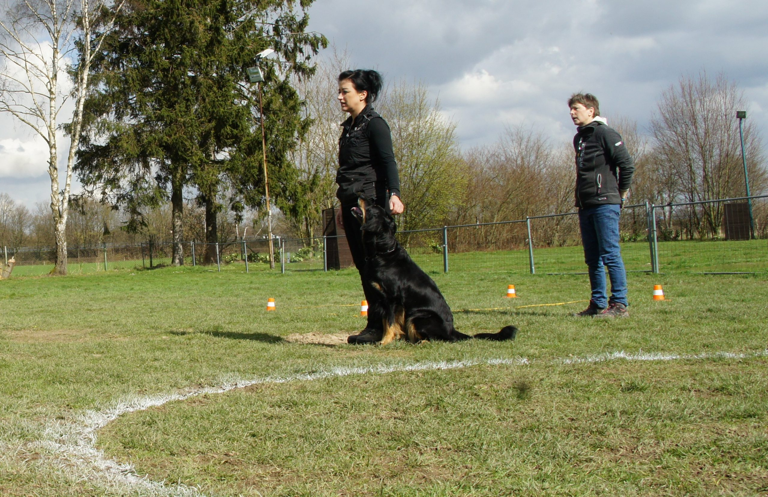 Obedience Seminar mit Brigitte Lange beim Team Mark 7