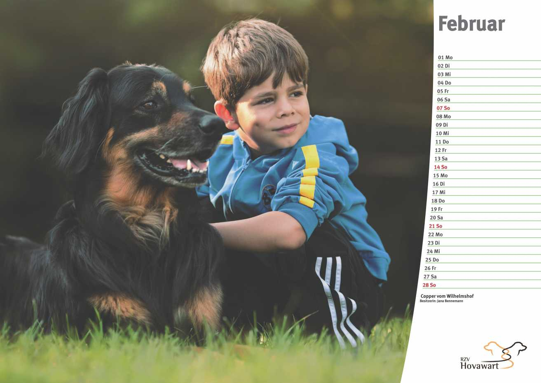 Hovawart Kalender 2021 3